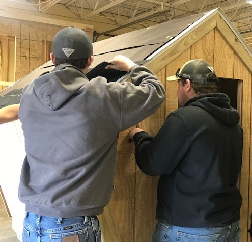 Building Trades Apprentices Continue Hands-On Learning with  Southern Air, Inc.