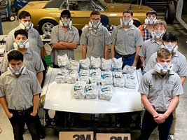 CATEC Celebrates Its Auto Body Repair Program As Part Of National Auto Body Council Day